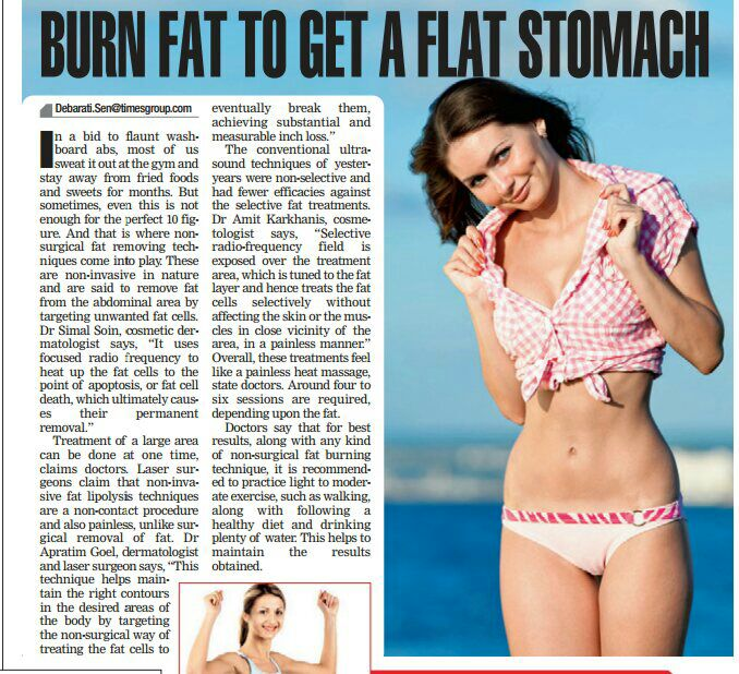 burn-fat-to-get-a-flat-stomech-dr-simal-soin-times-of-india