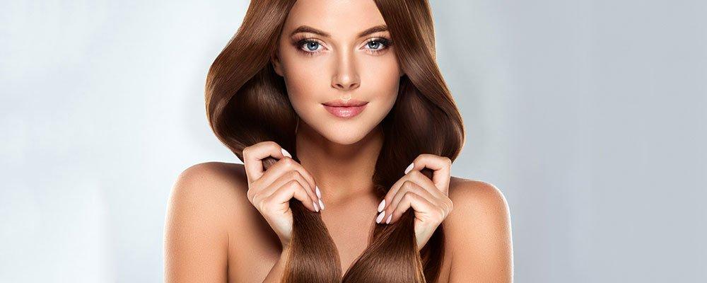 Balanced diet for healthy hair